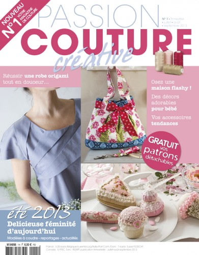 passion, cartonnage, couture, broderie, crochet, tricot, magazine, no 8, catherine, martini,