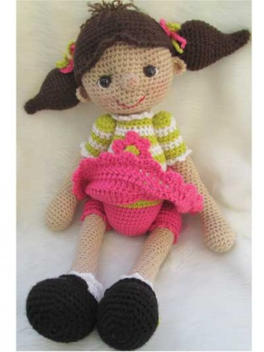 annie's, attic, crochet, bébé, babie, crocheted, cute, doll, poupée , pdf, download, telecharger, tuto, pattern , english