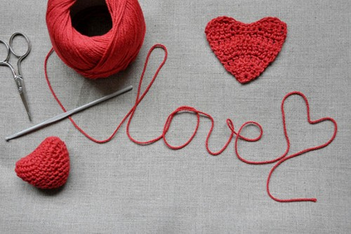 love, yarn, day, laine, aime, jour, crochet, tricot, heart, coeur, passion, amour,