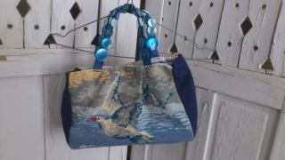 anny duperey, sac, createur, canevas, chat, marie's mimi, couture, diy, idees, recup,