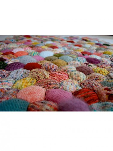 afghan, couverture, tricot, granny,