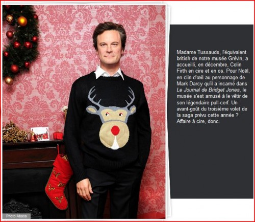 colin, firth, cire, pull, tricot, christmas, sweater, bridget , jones, darcy, tete, cerf,