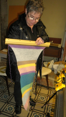 dr who,echarpe,tricot,pattern,explications,diy,scarf,knitting machine