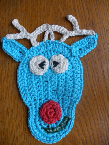 manique, pothloder, crochet, crocheted, christmas, gift, cadeau, noel, amusant, fun, easy, facile, chat,cat, santa, pere noel, renne, reindeer,pattern, explication, tuto,free, gratuit