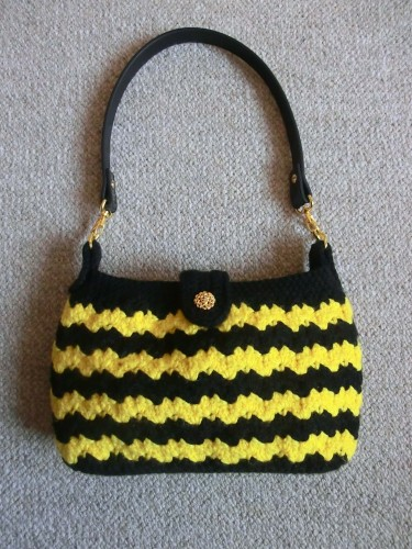 sac, pochette, armel, crochet,japon, bag, purse,