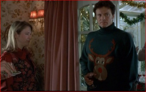 bridget, jones, diairy, journal, film, mark, darcy, colin, firth, reindeer, christmas, jumper, pull, noel, star, tuto, explication, patterne