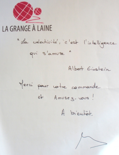grange a laine, citation, einstein, creativite, intelligence, s'amuse , diy, createur, creatrice , albert,