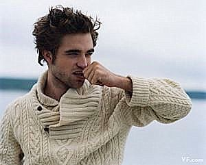robert, pattinson, pull, tricot , ralph, lauren, cable, sweater,