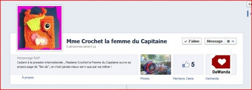 facebook, fan ,crochet, capitaine, page, blog, crochet, tricot, loisirs, chausson, bonnet, layette, tuto, pattern,