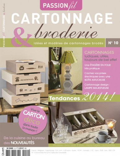 crochet, passion, hors, serie, reportage, interview, catherine , martinie, boutique, gourmandises, cartonnage, broderie